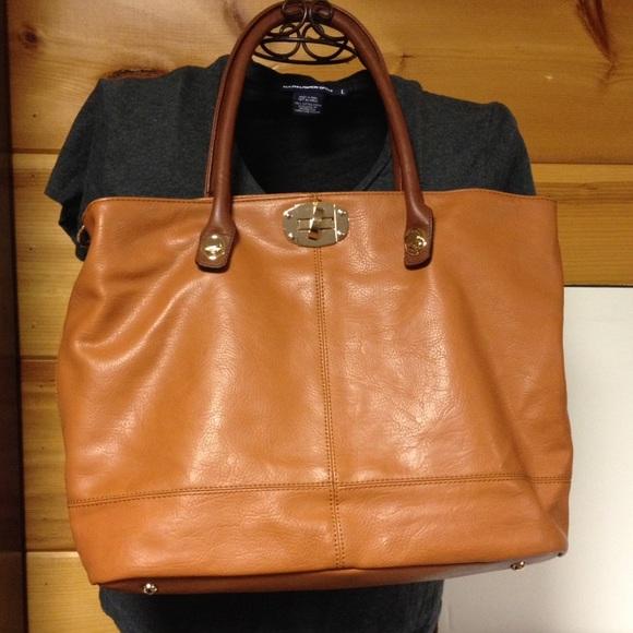 Charming Charlie Brown shoulder bag purse new